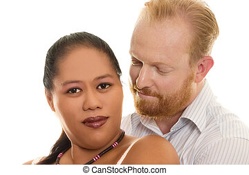 Loving Couple - Loving multicultural diversity couple...