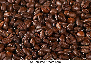coffeebeans - Kaffeebohnen - pile of coffeebeans - Flaeche...