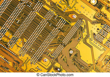 labyrinth - Irrgarten - cantle of a computer card -...