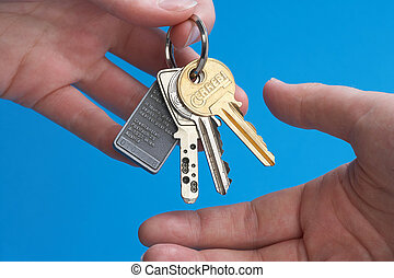 committal - Uebergabe - Hands committal a Key - Haend...