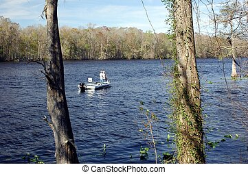 Fishing the Suwannee