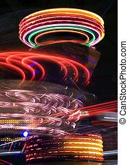 Amusement park 6 - Amusement park at night