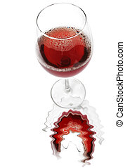 Red Wine Reflected