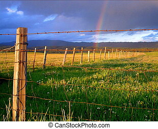 Bow And Some Wire - Spring storm in Valley County Idaho.