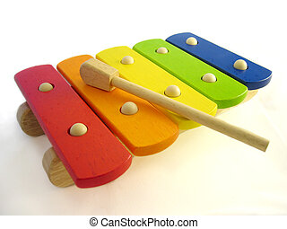 Xylophone - Childs toy wooden xylophone