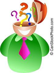 question brain