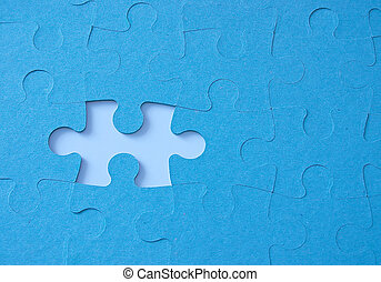 jigsaw puzzle - missing piece of jigsaw puzzlw