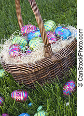 Easter Eggs - Easter Basket