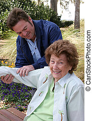 Pleasant Physical Therapy - A lovely senior woman enjoying...