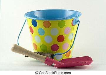 Bucket and Spade - Ready for a trip to the seaside