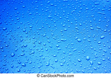 Raindrops on metallic car paint - might be a bit noisy...