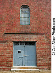 Jail walls - Seodaemun Prison History Hall, Seoul, South...