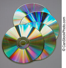 compact discs - reflection on the compact disk\\\'s surface