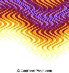 Swirly Background Flames