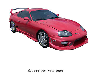 Red Hot Car - An insanely hot supra.
