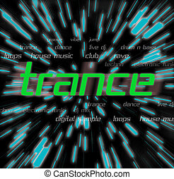 lower case trance - a montage themed around trance music -...
