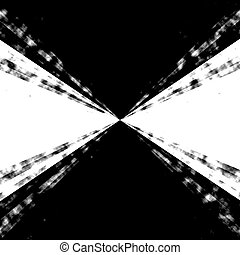 b and w Zooming Vortex - A cool 3d vortex background
