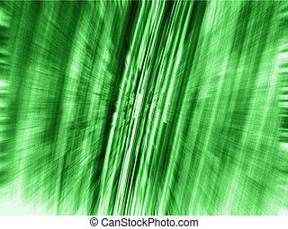 Matrix 3d Green Zoom Blur