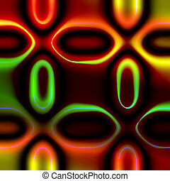 Rainbow Ovals - This a cool background I created. Also works...