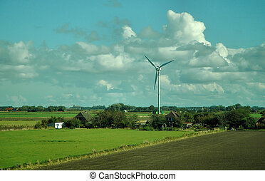 Wind Turbine in northern Germany