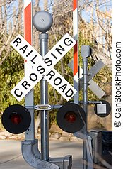 railroad sign - railroad crossing signs