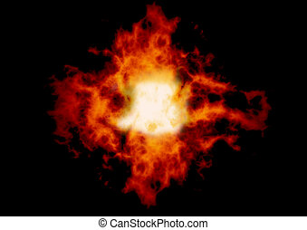 Explosion - A fireball Can be placed behind objects or used...