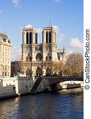 Notre-Dame de Paris - Notre-Dame cathedral - Paris, France
