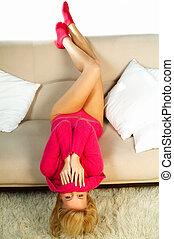 blonde girl - Sexy yound blonge women