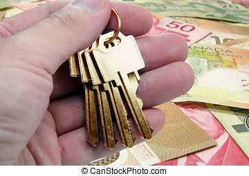 golden key to success, canadian dollar