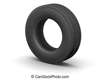 Tire - Detailed tire (3d render)