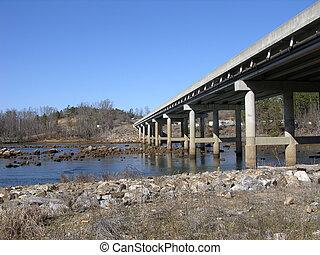 road bridge - bridge