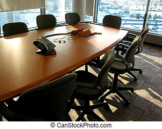 Meeting room - Empty business meeting or conference room