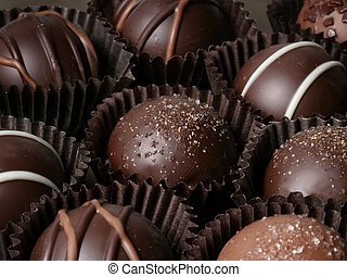 truffles - assorted chocolate truffles