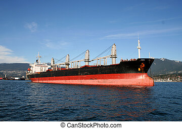 Freight Ship 3 - Freight Ship in Vancouver Harbour