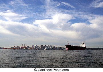 Freight Ship 4 - Freight Ship in Vancouver