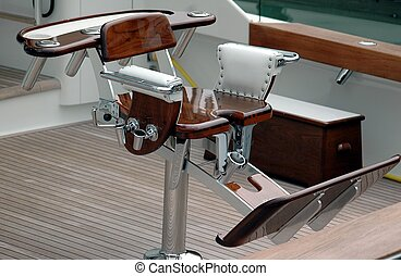 Sport Fishing Chair - photographed sport fishing chair from...
