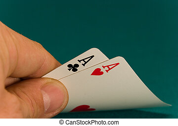 cards four or two card 06 aces.