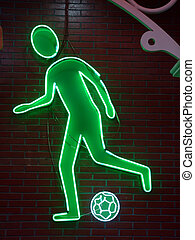 Football Neon Light - football neon light