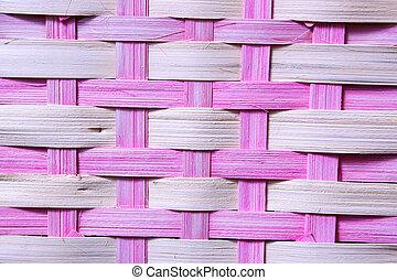 Basket Weave - Close-up of an Easter Basket
