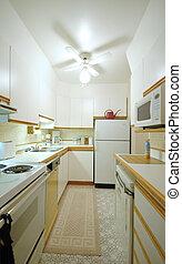 Kitchen - small white kitchen