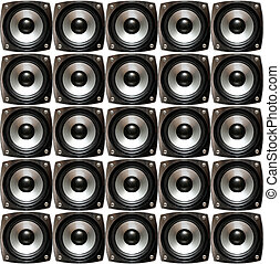 Array of speakers
