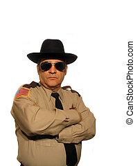 Not Impressed - ,Part of the uniformed sheriff series,over...