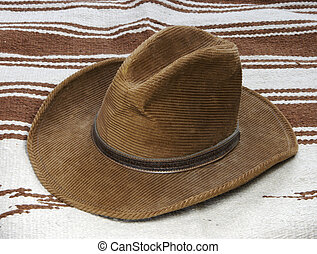 Hat and throw - Western Ht and Rug