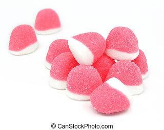 Cor-de-rosa, bala doce