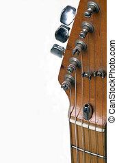 nape of guitar