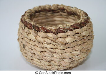 basket III - handmade basket from south korea