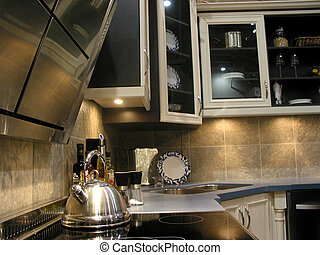 Modern kitchen - Interior of a modern kitchen