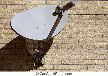 sattelite tv - sattelite dish for television