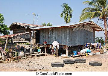 Rural Thai house