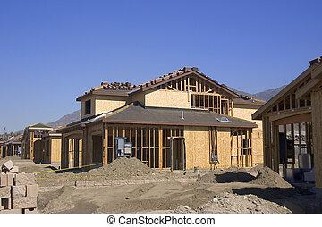 Construction - House construction